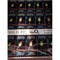 Micheal  Jackson 20x28 This Is It! Lenticular