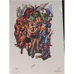 Stan Lee Signed Framed 13x19 Art Print
