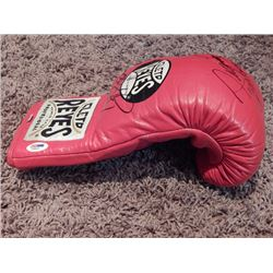 Manny Pacquiao Floyd Mayweather Signed Boxing Glove PSA DNA