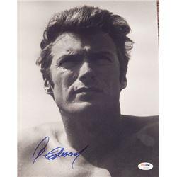 Clint Eastwood Signed 11x14 Photo PSA