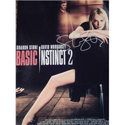 Sharon Stone Signed 12x18 Basic Instinct 2 Premier Poster