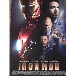 Robert Downey Jr Signed 11x17 Iron Man Premier Poster
