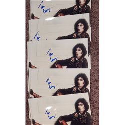 """Lot of 5 Tim Curry Signed 8x10 Photos """"Rocky Horror Picture Show"""""""