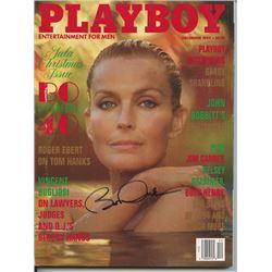 Bo Derek Signed Playboy