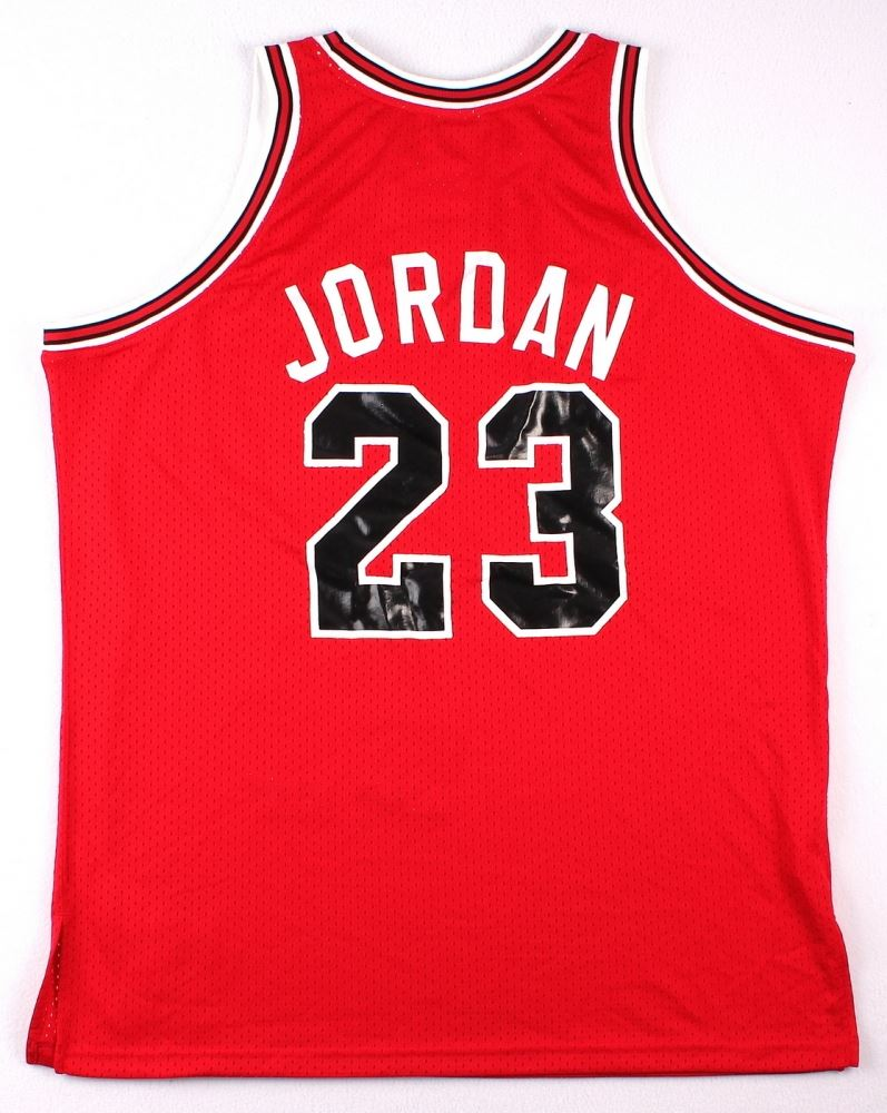 size 40 35907 412fd Michael Jordan Signed LE Authentic Mitchell & Ness 1984-85 ...