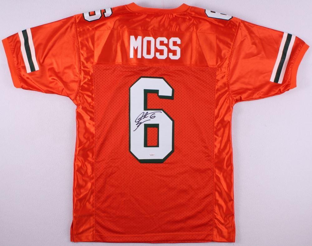 Miami University jsa Of Moss Santana Jersey Signed