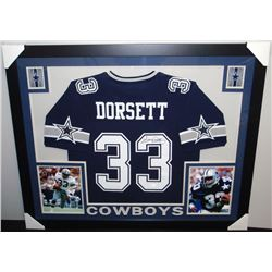 watch 011f1 d9a0a Tony Dorsett Signed Cowboys 35x43 Custom Framed Jersey ...