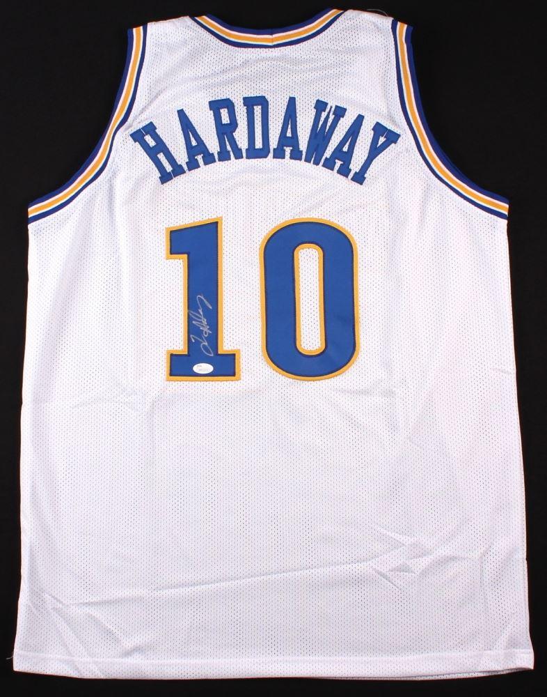 quality design 0afd8 32e5f Tim Hardaway Signed Warriors Jersey (JSA COA)