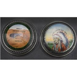 WESTERN GLASS PAPER WEIGHTS