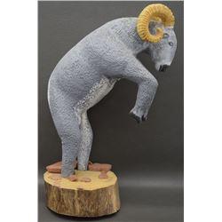 NAVAJO FOLK-ART RAM (YELLOWMAN)