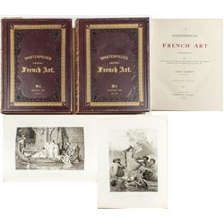 Masterpieces of French Art, Original Volumes (1883), Fulton Collection