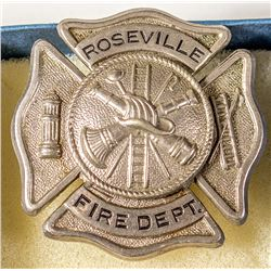 Roseville Fire Department Badge