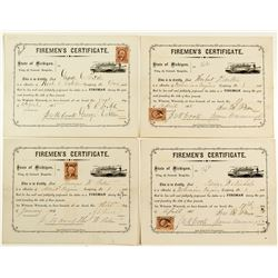Michigan Firemen's Certificates