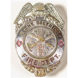 Wythe District Fire Department Badge