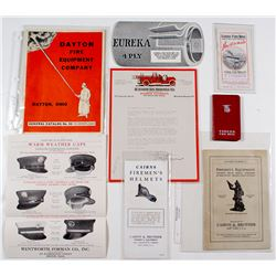 Fire Department Equipment Catalogs and Flyers