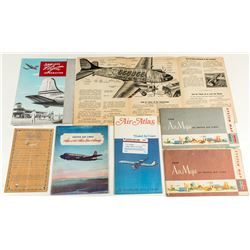 Vintage United Airlines Ephemera Package
