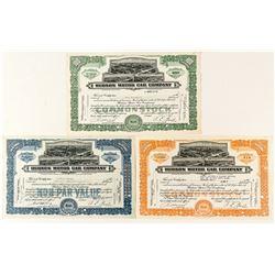 Hudson Motor Car Company Stock Certificates