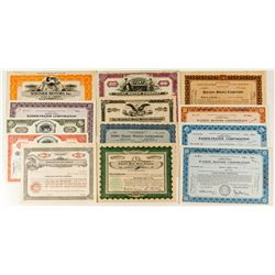Motor Companies Stock Certificate Collection