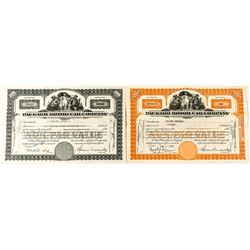 Packard Motor Car Company Stock Certificates