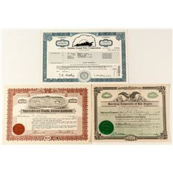 Speedway Stock Certificates