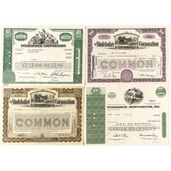 Studebaker Corporation Stock Certificates