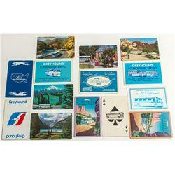 Greyhound Bus Advertising Cards