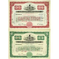 Earl Radio Corp. Certificate Pair