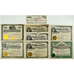 Western Telephone Stock Certificates Group