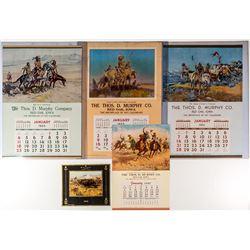 Famous Cowboy Paintings Calendars