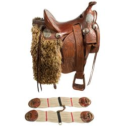 Custom-made Buffalo Bill Cody Replica Saddle
