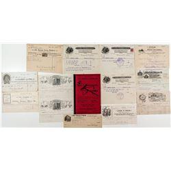 Western Horse Billheads & Catalogs