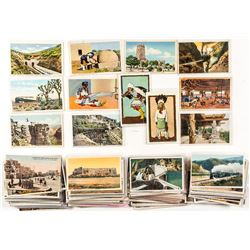 Fred Harvey Western Postcard Collection