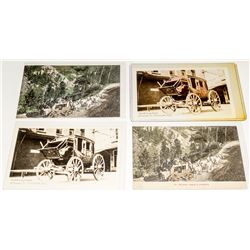 Placerville Stagecoach Postcards