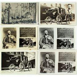 Hank Monk Stagecoach Postcards