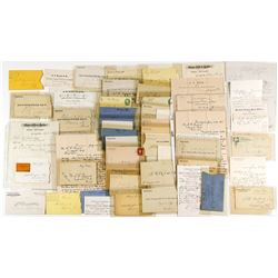 Fabulous Stagecoach Correspondence Collection