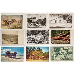 Various Stagecoach Postcards