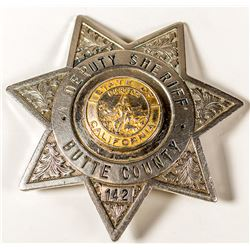 Butte County Deputy Sheriff Badge: Number 142