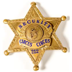 Circus Circus Casino Security Badge
