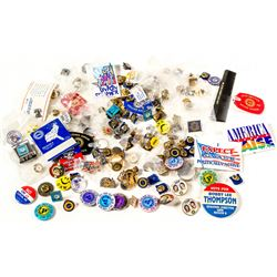 UAW and Other Union Pins and Buttons