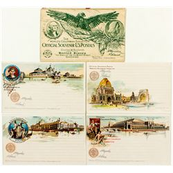 Columbian Exposition Souvenir Postcards