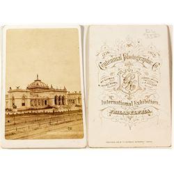 Centennial Exposition CDV