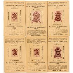 Centennial Exposition Memento Cards