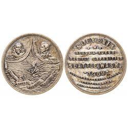 Alaska Yukon Pacific Exposition Souvenir So-Called Dollar (HK-363)
