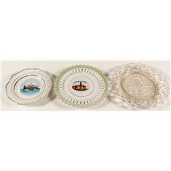 Three Souvenir Plates