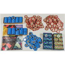 650 Fitzgeralds Casino Gaming Chips, Reno