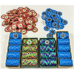 Ultimate Home Poker Set: 600+ Fitzgeralds Casino Reno Gaming Chips