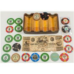21 Miscellaneous Casino Tokens