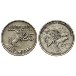 United Stated Bicentennial Souvenir Casino Token (Holiday Hotel)