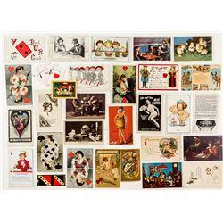 Gaming Postcards and Ephemera