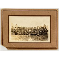 Photo of Co. 140th Infantry, Camp Clark